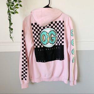 Rare OG Donut Graphic Hoodie Sweatshirt